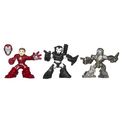 Marvel Iron Man 3 Expo Air Assault Superhero Squad - Pack of 3