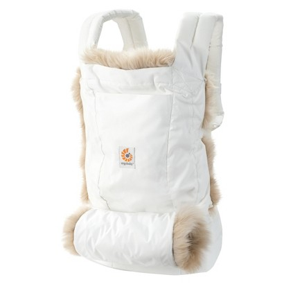 Ergobaby Designer Collection Winter Edition Baby Carrier - White