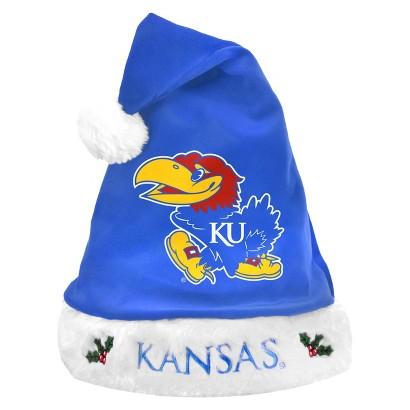NCAA 12 Santa Hat Kansas