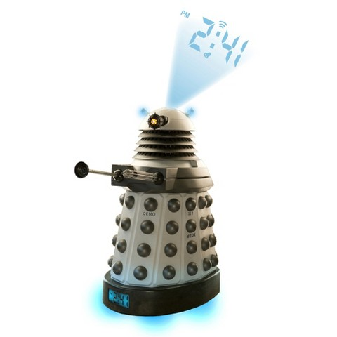 Underground Toys Doctor Who Dalek Projector Alarm Clock