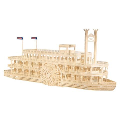 Bojeux Matchitecture - Mississippi Boat