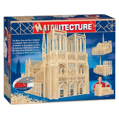 Bojeux Matchitecture - The Notre Dame de Paris Cathedral