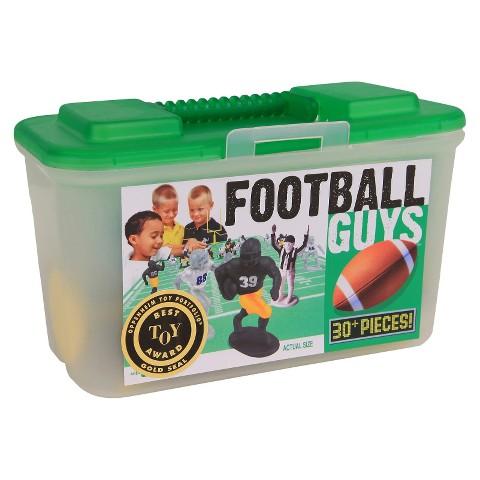 Kaskey Kids Football Guys Figure Set - Black versus Gold