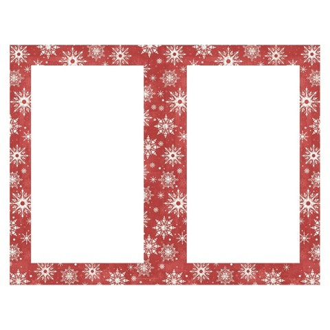 Snowflake Border Party Invitations (50 count)