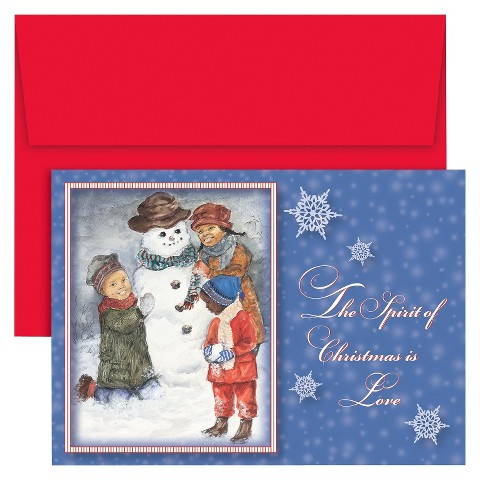 Outdoor Fun Holiday Card Set