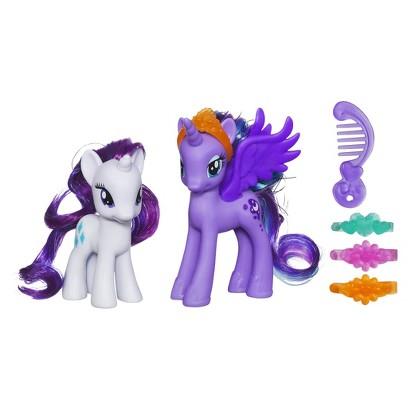 My Little Pony Princess Luna and Rarity Figures