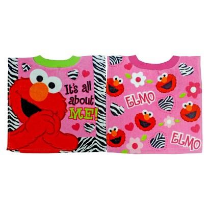 Neat Solutions Sesame Street Pullover Bib - Elmo/Abby (2 pack)