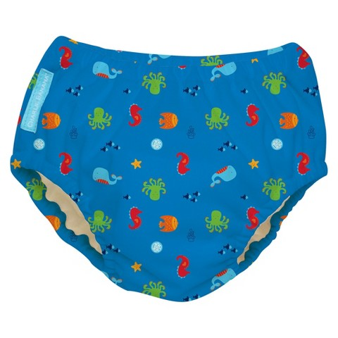 Charlie Banana Reusable Swim Diaper & Training Pant - Under the Sea (Select Size)