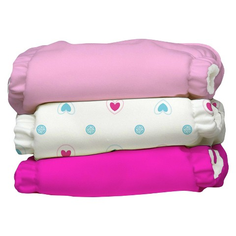 Charlie Banana Reusable Diaper 3pk XS