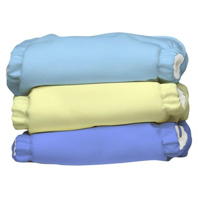 Charlie Banana Reusable Diaper 3 pack Size XS - Solids