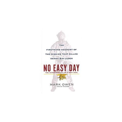 No Easy Day (Large Print) (Hardcover)