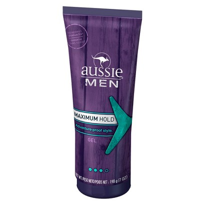 Aussie Men Maximum Hold Gel - 7 oz
