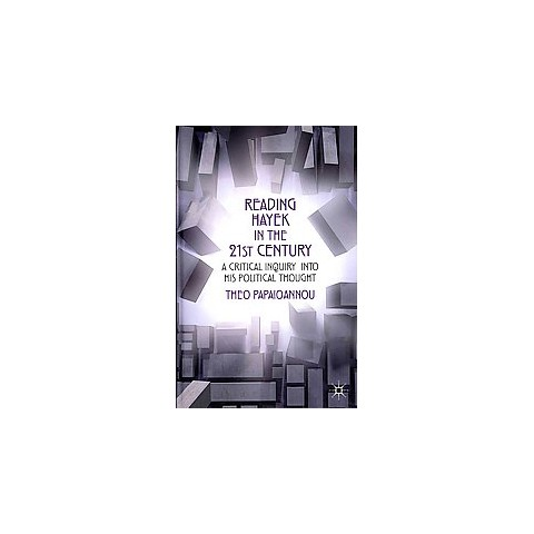 Reading Hayek in the 21st Century (Hardcover)