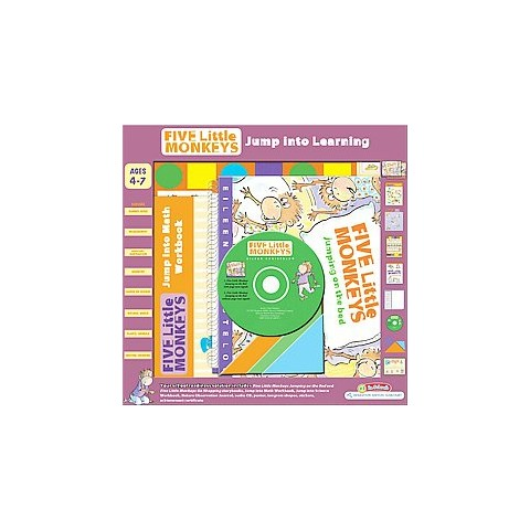 Five Little Monkeys Jump into Learning (Workbook) (Mixed media product)