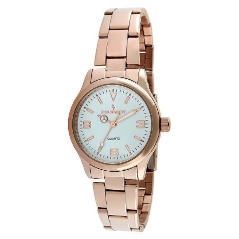 Peugeot Women's Bracelet Watch - Rose Gold