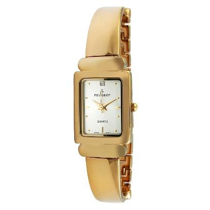 Peugeot Women's Half Bangle Link Watch - Gold