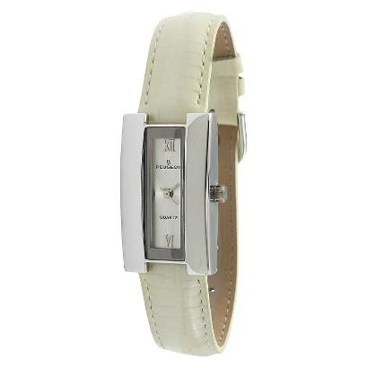 Peugeot Vintage Winter H-Case Watch - White