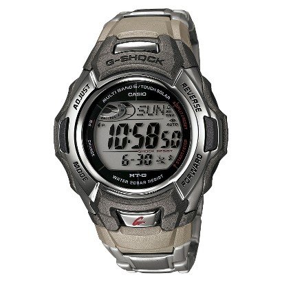 Casio Men's Atomic-Solar G-Shock Watch - Gray