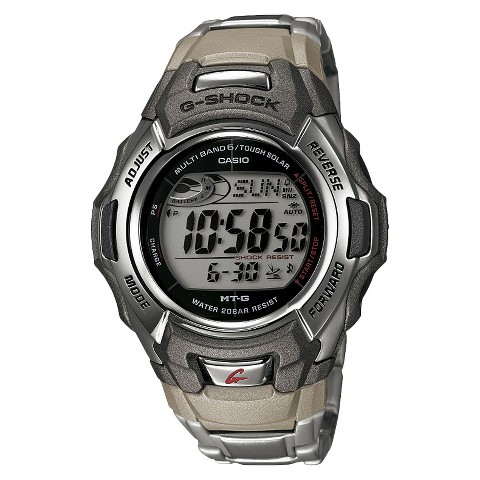 Men's Casio Atomic-Solar G-Shock Watch - Gray (MTGM900DA-8)