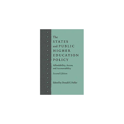 The States and Public Higher Education Policy (Paperback)