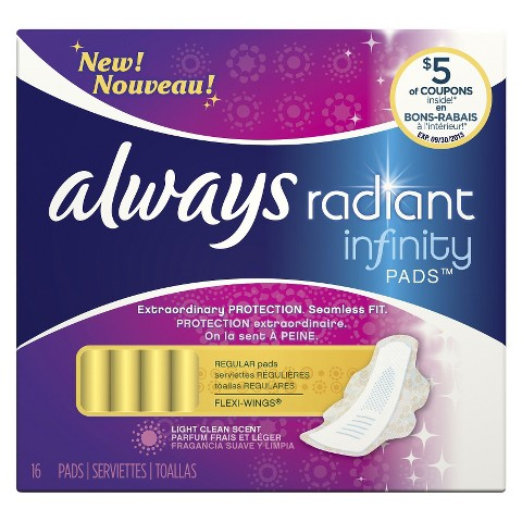 Always Radiant Infinity Regular Pads