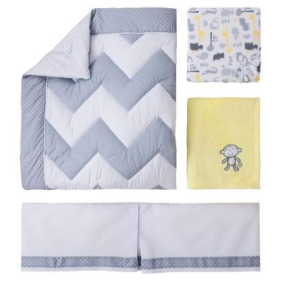Circo® Zigs n' Zags 4pc Crib Bedding Set