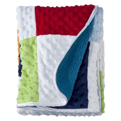 Circo™ Valboa Baby Blanket - Boy Patchwork (OLD)