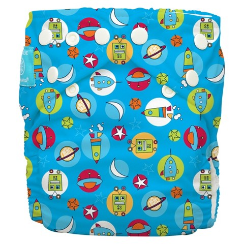 Charlie Banana Reusable Diaper 1 pack One Size - Assorted Prints