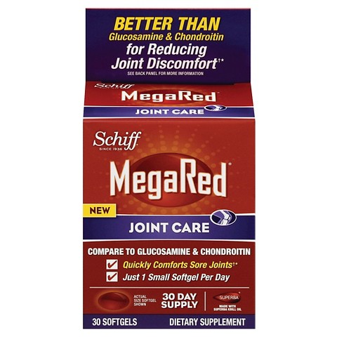 MegaRed Joint Care Omega-3 Krill Oil - 30 Count