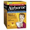 Airborne Vitamin C Hot Soothing Honey Lemon Packets - 10 Count