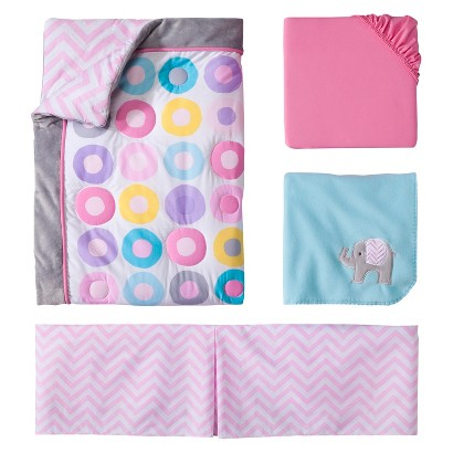 Circo® Geo Girl 4pc Crib Baby Bedding Set