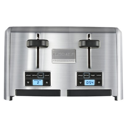 Frigidaire Professional Stainless 4 Slice Wide Slots Toaster