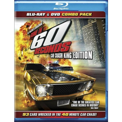 Gone in 60 Seconds (Blu-ray) (Widescreen)