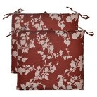 Threshold™ 2-Piece Outdoor Seat Cushion Set - Red Floral