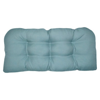 Smith & Hawken® Outdoor Settee Cushion - Azure