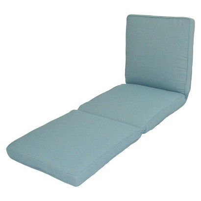 Smith & Hawken® Outdoor Chaise Lounge Cushion - Azure