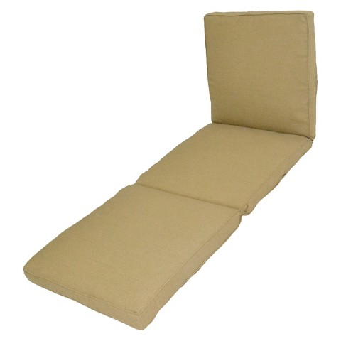 Smith & Hawken® Outdoor Chaise Lounge Cushion - Sand