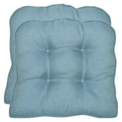 Smith & Hawken® 2-Piece Outdoor Seat Cushion Set - Azure