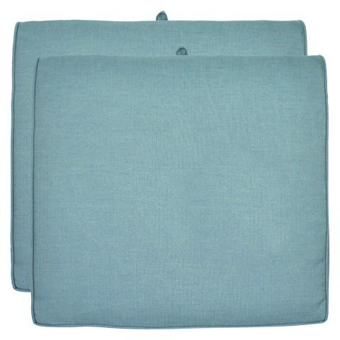 Smith & Hawken® 2-Piece Outdoor Seat Cushion Set- Azure