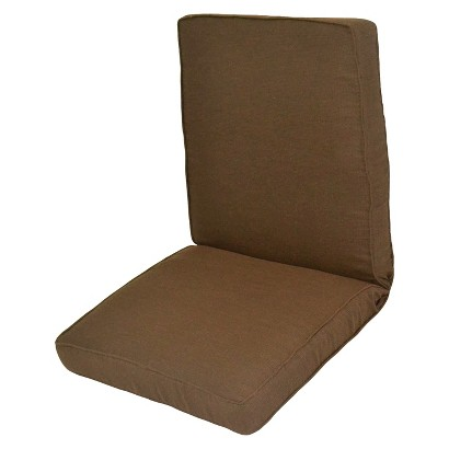 Smith & Hawken® Outdoor Chair Cushion - Espresso
