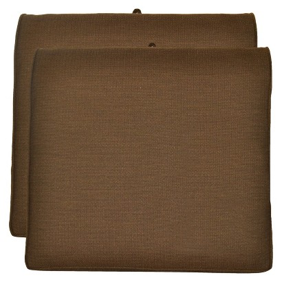 Smith & Hawken® 2-Piece Outdoor Seat Cushion Set- Espresso