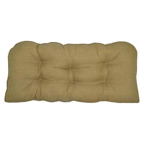 Smith & Hawken® Outdoor Settee Cushion - Sand
