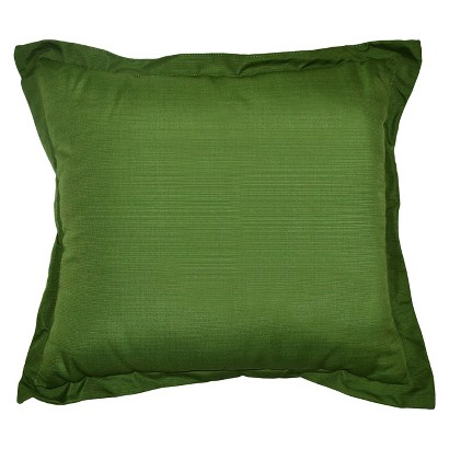 Threshold™ Outdoor Deep Seating Back Cushion - Green Textured