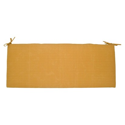 Threshold™ Outdoor Bench Cushion - Yellow Textured