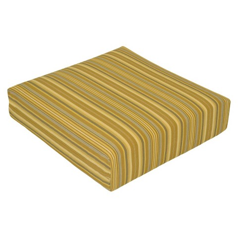 Threshold™ Outdoor Deep Seating Cushion - Yellow Stripe