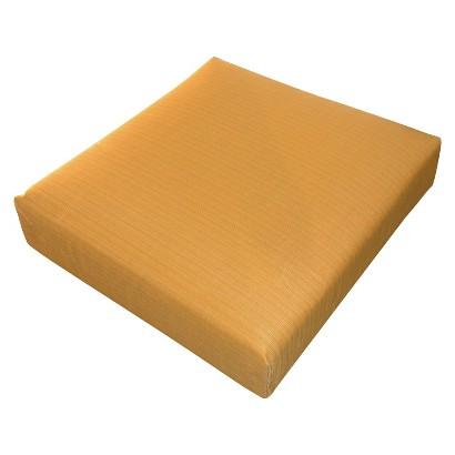 Threshold™ Outdoor Deep Seating Cushion - Yellow Textured