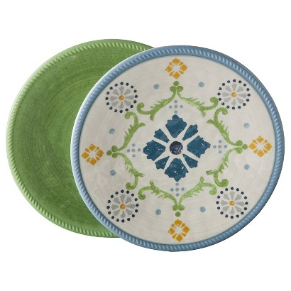 Threshold™ Roped Vasaio Appetizer Plate Set of 8 - Green