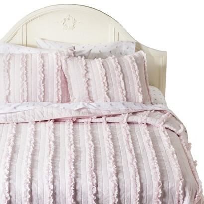 Simply Shabby Chic® Ruffle Bedding Collection - Pink