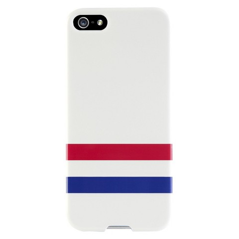 Agent 8 Varsity Case for iPhone®5 - White (P5SSL/57)