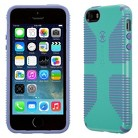 Speck CandyShell Grip Case for iPhone® 5 - Mykonos Blue/Wisteria Purple
